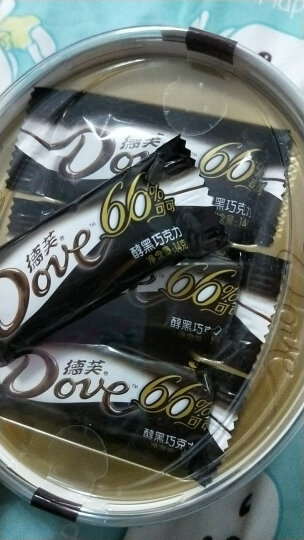 德芙Dove巧克力分享碗装 糖果巧克力休闲零食丝滑牛奶香浓黑等多种口味可选婚庆喜糖员工礼物 摩卡榛仁243g*1碗 晒单图