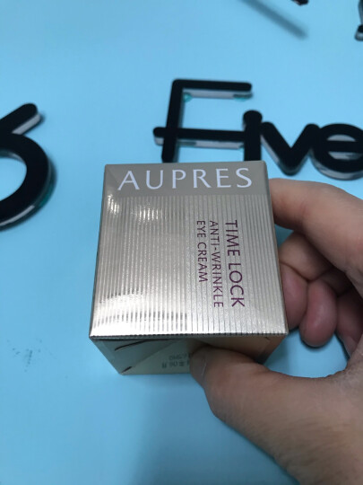 欧珀莱 AUPRES 时光锁紧致塑颜系列抗皱紧实眼霜20g(眼部精华,滋润焕亮,提拉紧致) 晒单图