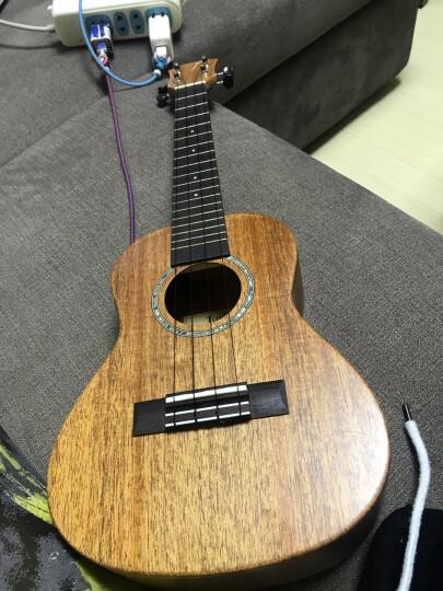 【230/280单板系列】TOM汤姆尤克里里面单乌克丽丽夏威夷小吉他乐器升级款ukulele TUC230【桃花芯单板 - 23英寸】 晒单图