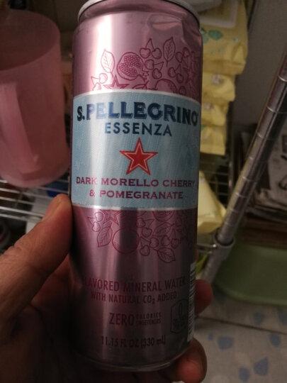 意大利进口 圣培露San Pellegrino含气天然矿泉水 玻璃瓶装1箱 750mlx12瓶 晒单图