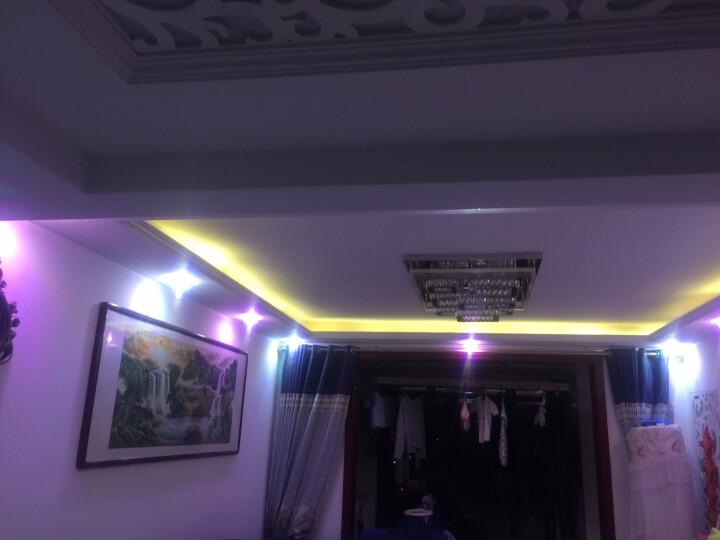 世尊 LED过道灯走廊灯玄关灯门厅灯飘窗灯 客厅led射灯筒灯天花灯 LED5W+高亮桃红 暗装(开孔5-10厘米) 晒单图
