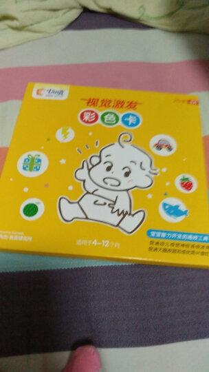 七田真黑白卡片婴儿早教卡新生黑白视觉激发卡宝宝追视卡儿童彩色卡闪卡玩具 黑白卡套餐(黑白卡1+2+3) 晒单图