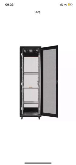 麦森特(MAXCENT)麦森特 机柜 服务器弱电监控UPS交换机网络机柜 加厚可定制 2米42U 600*900 MX6942 晒单图