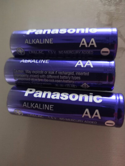 松下(Panasonic)23A碱性干电池12V 5节适用于电子遥控器防盗卷帘门引闪器LRV08L/1B5C 晒单图