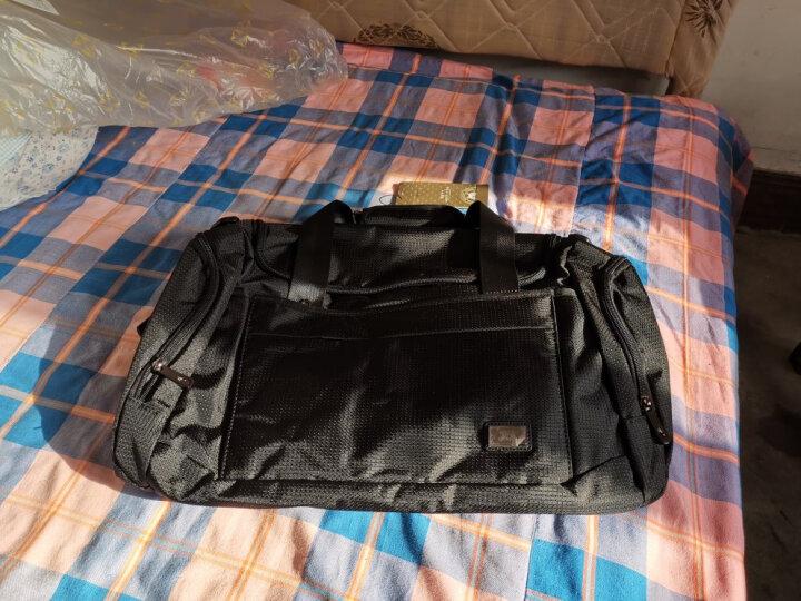 七匹狼(SEPTWOLVES)旅行包男士手提行李包健身包大容量商务短途出差旅行袋 经典款 晒单图