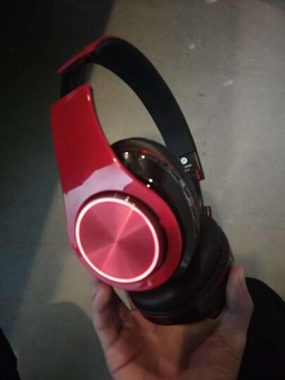 奇联 BH3耳机头戴式蓝牙无线降噪重低音运动游戏手机电脑通用耳麦 【推荐】红黑色 晒单图