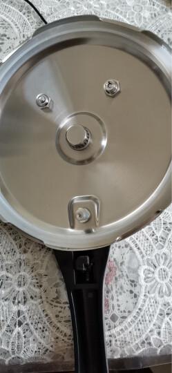 爱仕达不锈钢高压锅自营 22CM六保险压力锅WG1822DN 燃气电磁炉煤气通用 晒单图