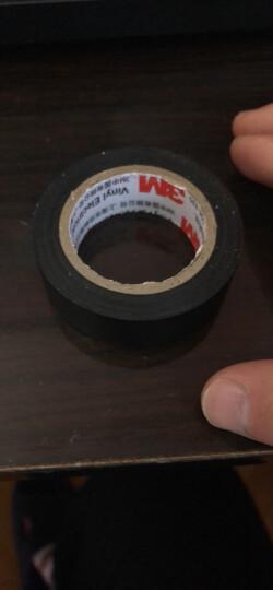 3M 1500# 无铅电气(电工)绝缘胶带 汽修家装 耐磨防潮耐酸碱  黑色 单个装 晒单图