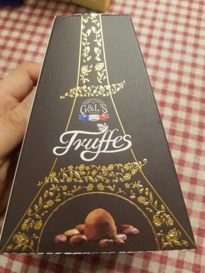 法国进口 德菲丝(Truffes)松露巧克力情谜埃菲尔系列 100g 晒单图