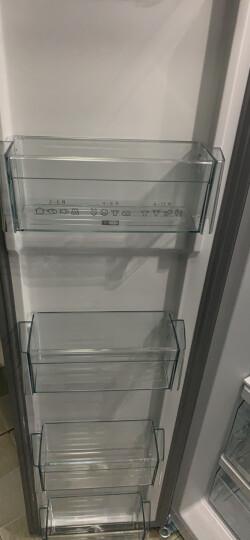 西门子(SIEMENS) 610升 变频风冷无霜对开门冰箱 大容量 速冷速冻(银色) BCD-610W(KA92NV60TI) 晒单图