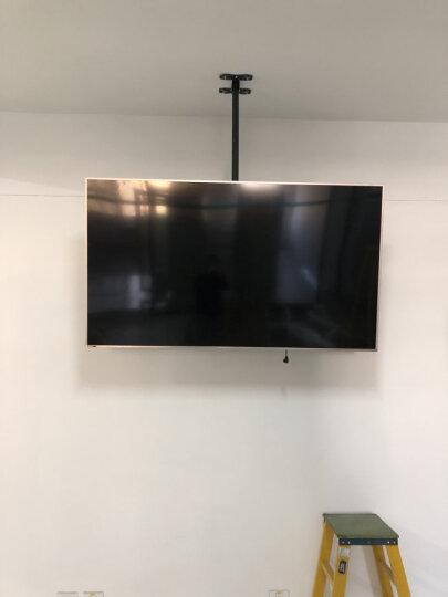 威视朗27-70英寸重载升降电视吊架挂架天花板液晶显示器吊顶支架海信TCL小米4A/4S伸缩吊装壁挂 银色中号317ST2(43-55寸)晒图返20元 +延长管(可增长至4米) 晒单图