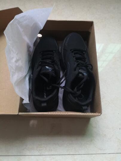 安踏男鞋运动鞋男士2020夏季网面透气跑步鞋休闲旅游板鞋户外鞋耐磨慢跑鞋子官方新款 -3黑/安踏白 44.5 晒单图