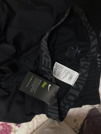 耐克NIKE健身服男紧身衣男 长袖运动T恤 nike pro紧身服 健身衣跑步 两件套(紧身衣+紧身裤)不含短裤 L 晒单图