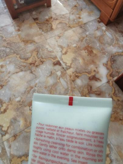 【法国原装进口】娇韵诗Clarins洗面奶孕妇可用 棉花籽深层清洁不紧绷 旅行小样套装 洁面+黄水+恒润面霜+精华液+眼霜 晒单图