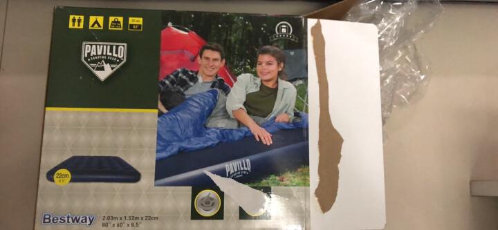 Bestway百适乐 折叠床充气床垫双人气垫床充气垫办公室午休床午睡床行军床(附赠电泵1个)67002 晒单图