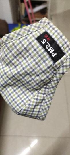 绿之源 绿呼吸新风电动防护口罩净化滤芯10片装(成人款蓝牙版)防汽车尾气异味防尘防PM2.5花粉灰尘过滤网 晒单图