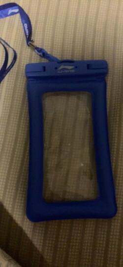 李宁 LI-NING 手机防水袋 游泳包 外卖骑手防雨壳 723 粉色 晒单图