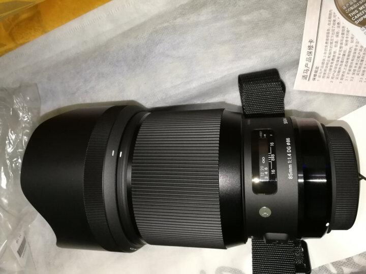 适马(SIGMA)ART 85mm F1.4 DG HSM 全画幅 大光圈定焦镜头 人像肖像特写(佳能单反卡口) 晒单图