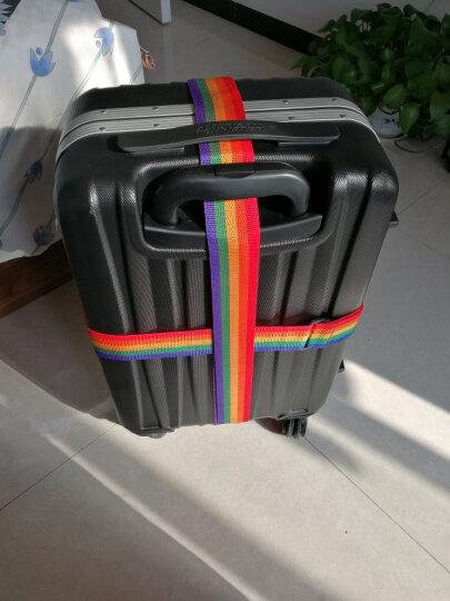 伴侣行 十字打包带 拉杆箱一字捆绑带 托运行李箱捆扎带 旅行箱TSA密码锁捆绑绳 BL1016 多彩 晒单图