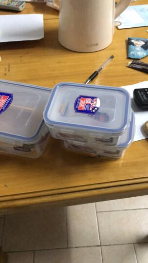 乐扣乐扣(LOCK&LOCK) 乐扣乐扣PP塑料保鲜盒饭盒便当盒礼盒套装 多种型号组合套装 透明保鲜盒 3件套HPL817S001 晒单图