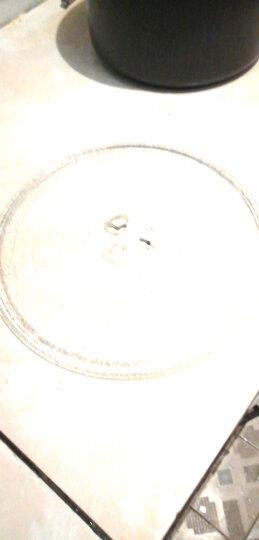 天勤 微波炉转盘微波炉玻璃托盘转盘玻璃盘托盘子适用格兰仕、美、LG、三星的等 三角架转圈 晒单图