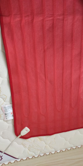 彩虹电热毯单人 电褥子 学生宿舍电热毯(长1.5米宽0.7米)JD101 晒单图