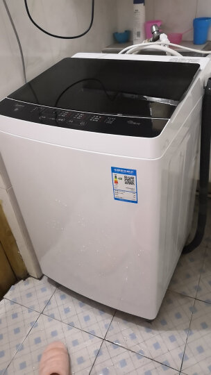 美的(Midea)洗衣机8公斤全自动波轮洗衣机 家用宿舍用甩干8kg MB80ECO1 晒单图