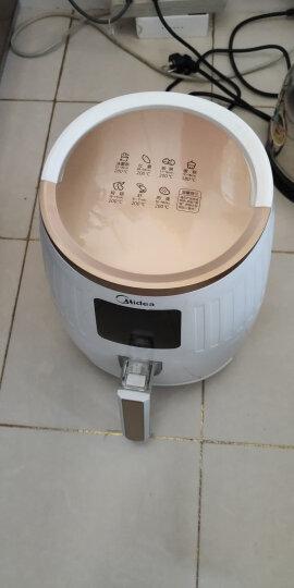 美的(Midea)空气炸锅 家用无油智能多功能 大容量电炸锅 MF-WZN3201 白色 晒单图
