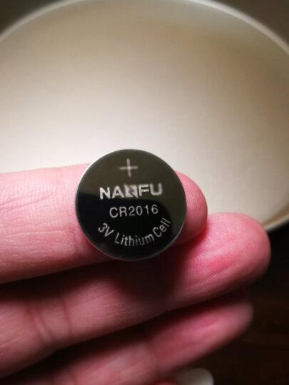 南孚(NANFU)传应 CR2016纽扣电池5粒 全新升级物联电池 3V锂电池 适用丰田比亚迪奔驰景逸等汽车钥匙遥控器等 晒单图