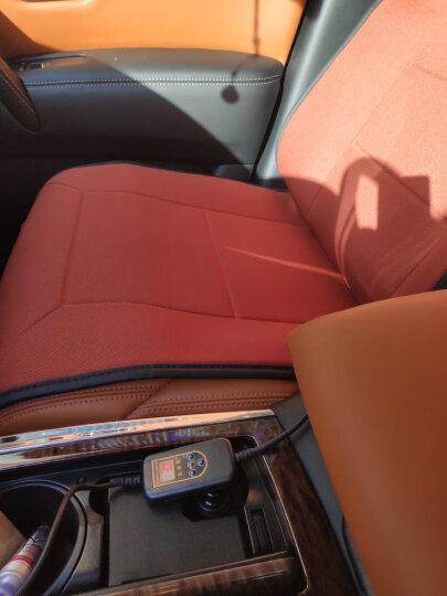 金銮殿 汽车加热坐垫 冬季车载座椅加热垫 适用于12V通用 米色 双座加热 晒单图