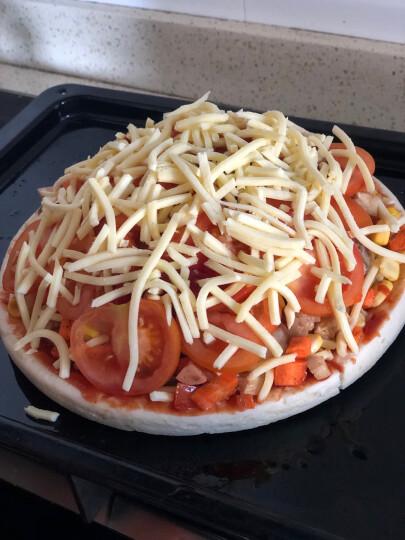 7式 冷冻披萨饼底 570g  (9英寸  3张 披萨 披萨胚 烘焙) 晒单图