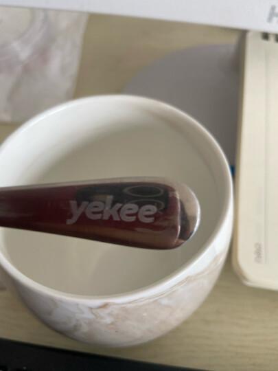 宜洁 勺子不锈钢中号餐勺调羹西餐勺中勺Y-9849 晒单图