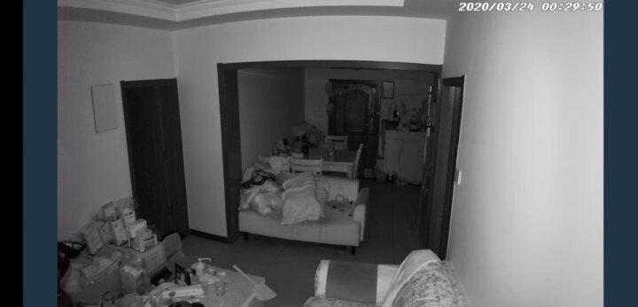 360 智能摄像机 小水滴1080P版 网络wifi家用监控高清摄像头 高清夜视 母婴监控 双向通话 远程监控 哑白 晒单图