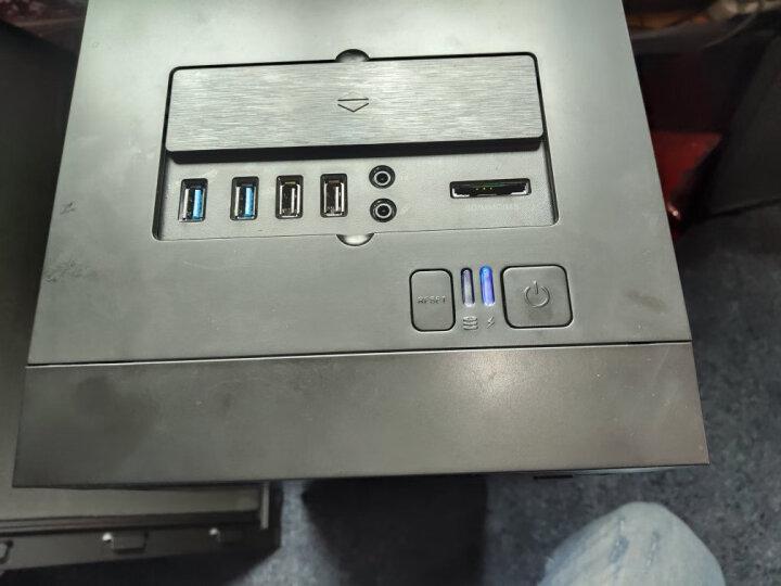 游戏帝国 GAMEMAX 轻风健侠 静音电脑主机箱 服务器 黑(拉丝面板/配3把静音风扇/双U3/多功能读卡器) 晒单图