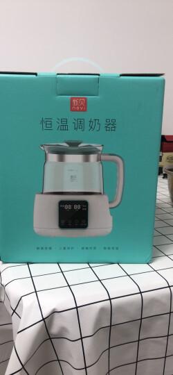 新贝(NCVI)恒温调奶器 0.9L 多功能冲泡奶粉机恒温暖奶器玻璃水壶 8628 晒单图