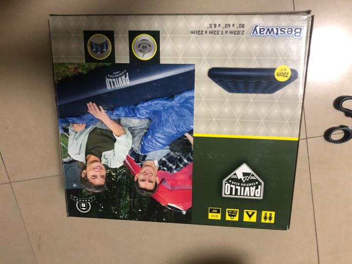 Bestway百适乐 充气床垫 双人气垫床加大家用折叠 办公室午休午睡床居家户外帐篷便携防潮垫 67004 晒单图