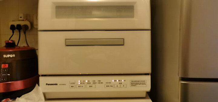 松下(Panasonic)6套容量洗碗机 除菌烘干双层碗篮台式NP-TR1WRCN(珍珠白) 晒单图