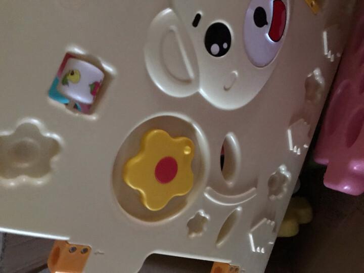 澳乐(AOLE-HW)儿童婴儿游戏围栏爬行垫围挡安全护栏宝宝学步围栏栅栏海洋球池室内玩具 跑跑熊14片+门栏+玩具栏【京东闪电发货】 晒单图