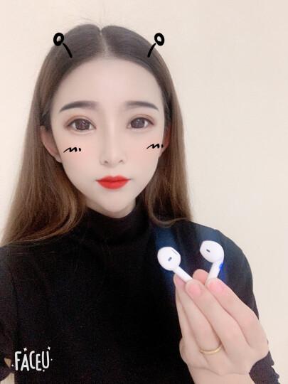 FMJ 真无线蓝牙耳机马卡龙双耳入耳式迷你运动适用于华为/苹果/oppo手机通用 i12 经典白(弹窗配对+智能触控+嗮单送耳机套) 晒单图