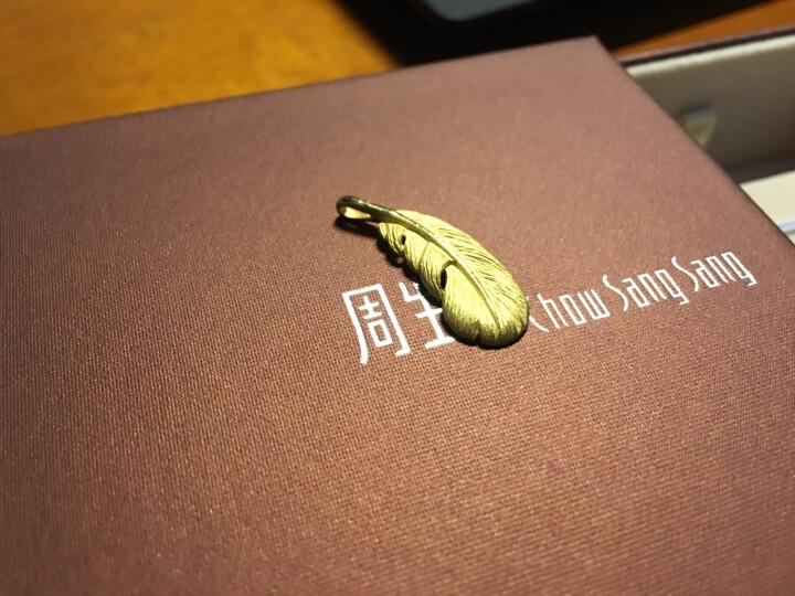 周生生 黄金(足金)爱情密语羽毛吊坠 86820P 计价 2.3克 晒单图