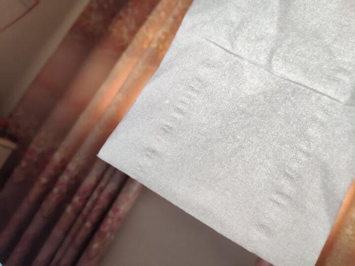 妮飘(nepia)抽纸 炫酷黑郁薄荷系列3层120抽软抽*6包纸巾 晒单图