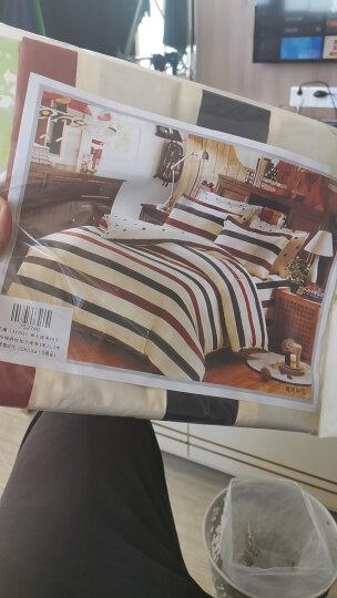 艾薇家纺床单单件40支纯棉斜纹加大单人被单裸婚时代152*210cm 晒单图