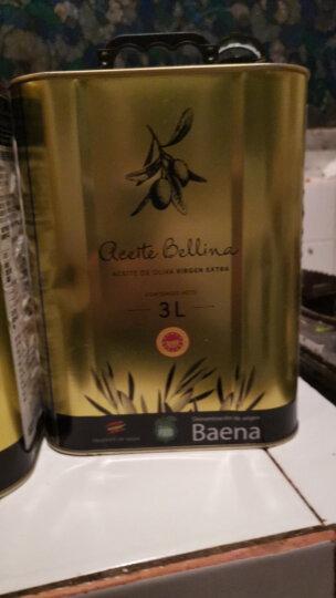 蓓琳娜(BELLINA)3L PDO特级初榨橄榄油 西班牙原装原瓶进口 晒单图