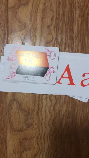 英语(PEP)学生卡片:三年级上册(三年级起点) 晒单图