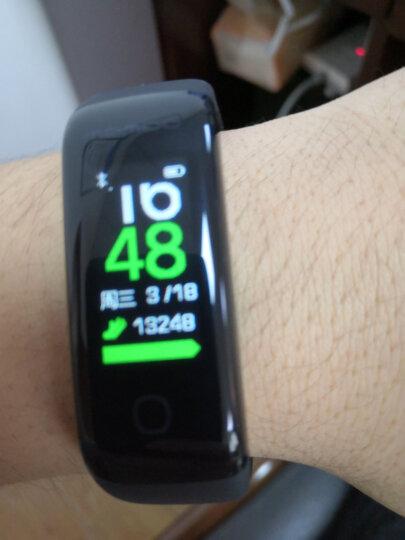 乐心 MAMBO 2 智能手环 心率手环 触屏版 来电显示 震动提醒 智能跑步识别 计步 防水 专业运动手环 紫罗兰 晒单图