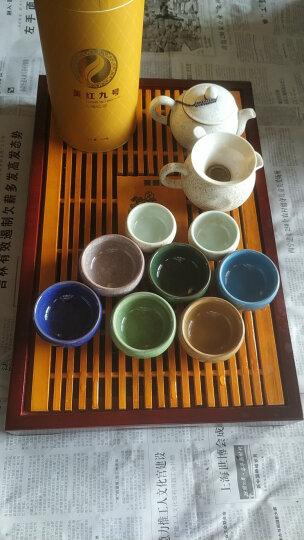 言艺青瓷手绘茶杯陶瓷碗杯青瓷个人杯 梅兰竹菊主人杯6个 晒单图