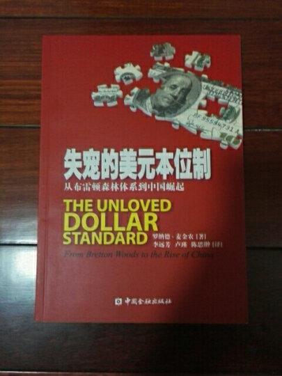 失宠的美元本位制:从布雷顿森林体系到中国崛起 晒单图