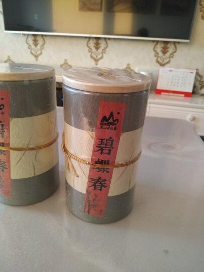 茗山生态茶2020新茶 茶叶 绿茶 碧螺春 双木罐装共300g 晒单图