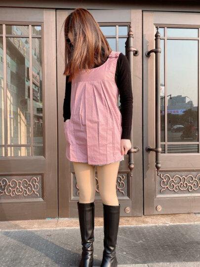 朵雅防辐射服孕妇装上班银纤维吊带内穿肚兜四季外穿大码套装 紫色+银纤维吊带 XXL 晒单图