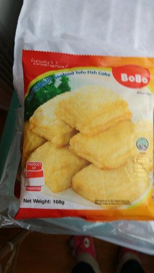 波波(BOBO)海鲜豆腐鱼饼 168g 新加坡进口 火锅丸子 烧烤食材 晒单图